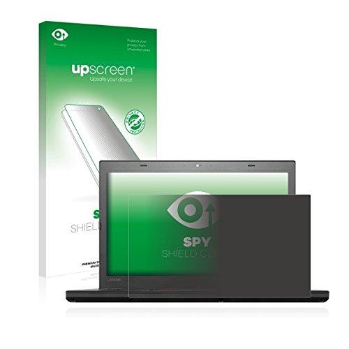 upscreen Spy Shield Clear Blickschutzfolie / Privacy für Lenovo ThinkPad T460 UltraBook (Sichtschutz ab 30°, Kratzschutz, selbstklebend)
