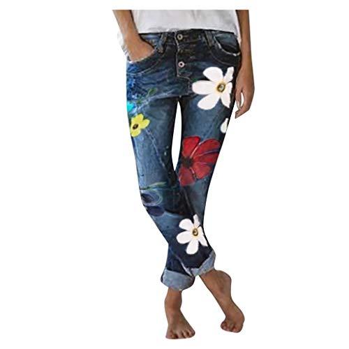 FinDaDa Damenjeans mit weitem Bein und hoher Taille und ausgestelltem Bein. Retro-Jeans mit weitem Saum. Schmal geschnittene Hosenjeans mit weitem Bein Schwarz Grau Blau S/M/L/XL/XXL/XXXL