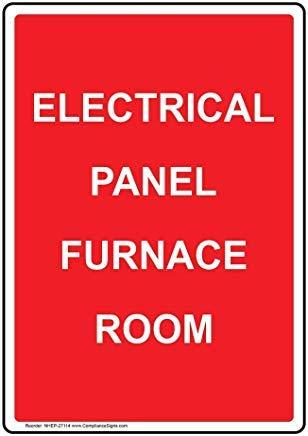 wendana Verticaal elektrisch paneel oven kamer teken,Grappige Wanring tekens,Poortteken,Vandaar Yard Sign,8