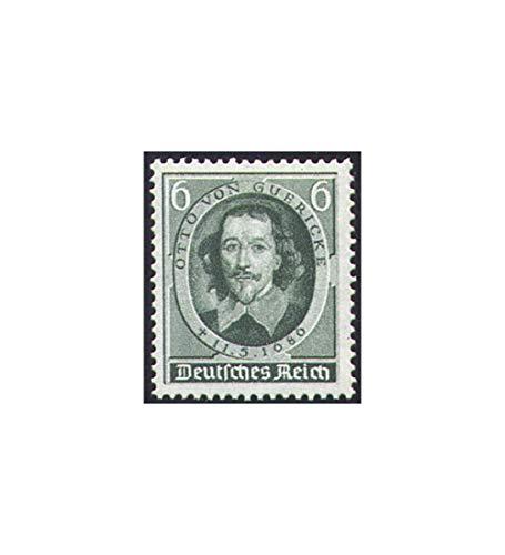 Goldhahn Deutsches Reich Nr. 608 Otto von Guericke Briefmarken für Sammler