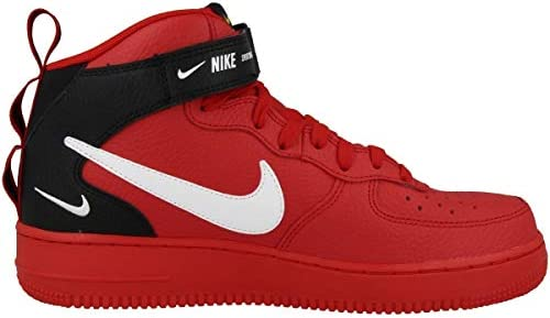 air force 1 nere e rosse uomo