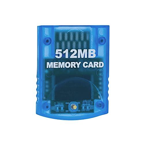 Mcbazel 512MB Gaming-Speicherkarte für Nintendo Wii/Gamecube GC-Konsole