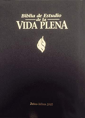 Rvr 1960 Biblia de Estudio Vida Plena, Tapa Dura