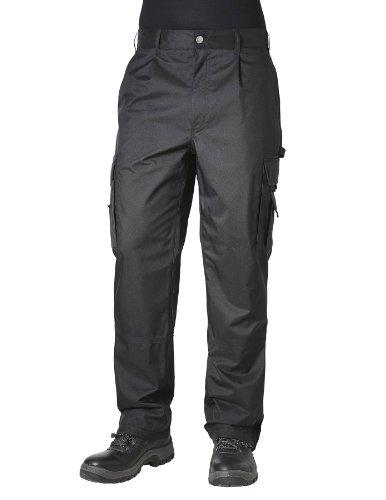 Pionier  workwear Herren Cargohose Teflon in schwarz (Art.-Nr. 2590) schwarz,Größe 48