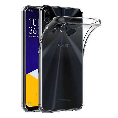Asus Zenfone 5 ZE620KL / Zenfone 5Z ZS620KL ケース AICEK Asus Zenfone 5 ZE620KL / Zenfone 5Z ZS620KL クリア ソフト シリコン TPU ケース 耐衝撃 落下防止 保護カバーAsus Zenfone 5 ZE620KL 対応6.2型ワイド専用
