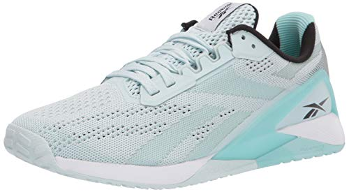 Reebok Mens Nano X1 Training Shoes, Chalk Blue/Digital Glow/White, Numeric_10
