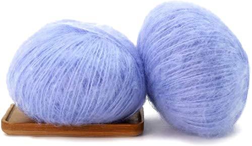 djryj Spirituele Mode Kleurrijke Mohair Wol Roll Geweven Breien Voor Sjaals Sweater