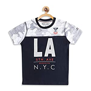 Monte Carlo Boy's Regular fit T-Shirt 6 41NEpO+jK6L. SS300