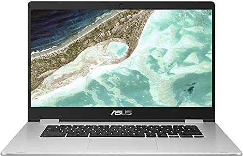 ASUS Chromebook Celeron Dual Core – (4 GB/64 GB EMMC Storage/Chrome OS) C523NA-BR0300 Thin and Light Laptop (15.6 inch, Silver, 1.43 Kg)