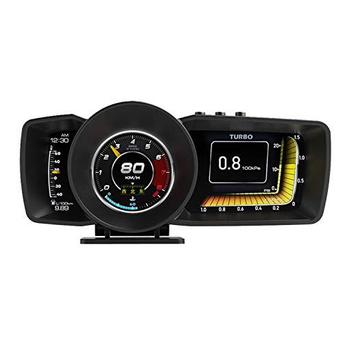 OBD2 GPS メーター 3画面 追加メーター サブメーター 4インチ 後付け ポン付 スピードメーター タコメータ...