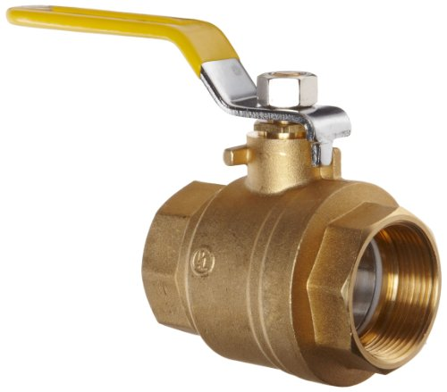 "Apollo 94A Series Brass Ball Valve, Two Piece, Inline, Lever, 3"" NPT Female"