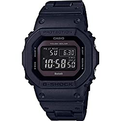 Casio GW-B5600BC-1BER Casio g-shock with black resin strap Quartz movement