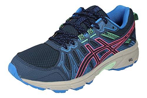 Asics Gel-Venture 7, Walking Shoe Unisex-Adult, Peacoat/Hot Pink