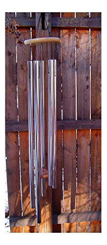"5' Big Extra Large 57"" Deep Tone resonant bass Sound Church Bell Windchime Chime"