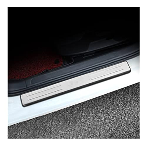 LINMAN Compatible With Volkswagen VW Golf 7 MK7 2014-2019,Side Door Sill Protector Threshold Scuff Plate Welcome Pedals Covers Trims