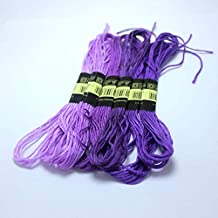 - Cross Stitch Thread - Meters Weave Bracelets Thread The Unique Style 6 Embroidery Thread Floss Sewing Skeins Craft Dofferent Color - by Love^Store - 1 PCs