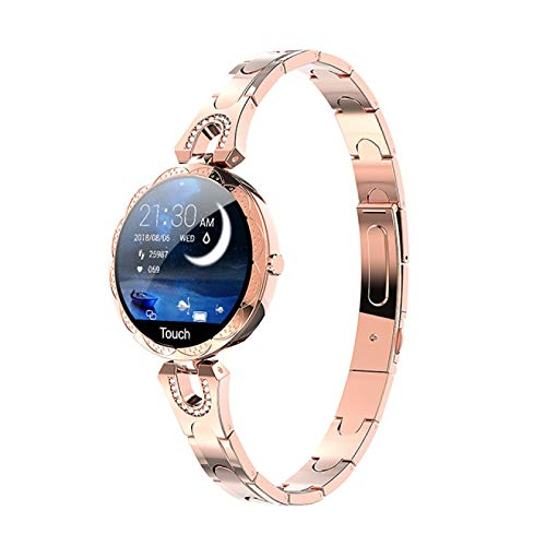 xiaoxioaguo - Reloj deportivo impermeable para mujer, color dorado