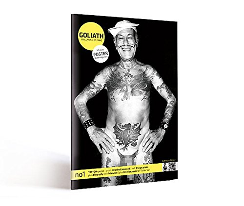 Tattoo Special: Posterbook: GOLIATH wallpaper of fame #1 (Goliath Wallpaper of Fame / Poster Book Magazine)