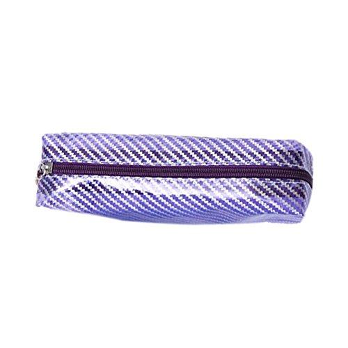 fablcrew Aufbewahrungstasche von Kosmetika und für Damen Handtasche von Desktop-Effekte des Student 20*9*6CM purpur
