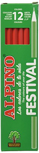 Alpino C0131005 - Lápices, Rojo