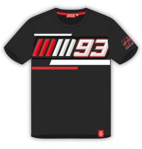 Camiseta Marc Marquez - MM93 - Negro - XXL