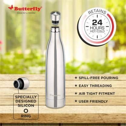 Butterfly Voyage Stainless Steel Vacuum Flask - (500 ml)