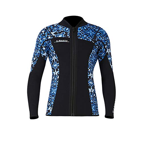 Sexy Lingerie Camouflage Taucheranzug Top 1.5MM Split Jacke Verdickt Warmen Schnorchel Surfanzug Tauch Badeanzug,Man b,M