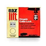 Eaz-Lift RV 5th Wheel Trailer Kingpin Collar Lock - Locks to Your Kingpin to Protect Your RV 5th Wheel from Theft While in Storage, Fits Standard 2' Kingpin (48856)