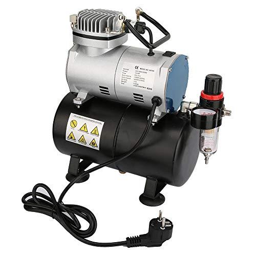 Airbrush-compressor, 1/6 Horsepower Airbrush-compressor met luchttank/drukregelaar voor auto
