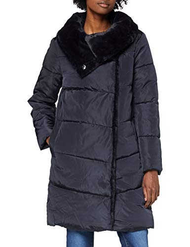 ESPRIT Collection Damen 100EO1G304 Jacke, 400/NAVY, L