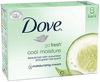 Dove Bar Soap, Cool Moisture, 16 Count [並行輸入品]