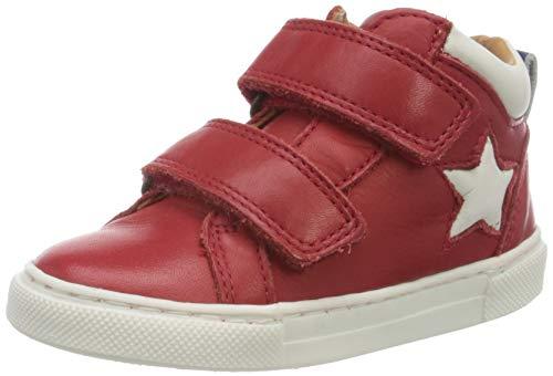 Bisgaard Unisex-Kinder Jacob Hohe Sneaker, Rot (red 1903), 33 EU
