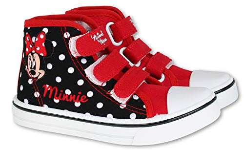 Minnie Mouse Sneakers rot Gr. 33 860-097