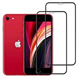 Znoble Compatible with iPhone SE Screen Protector, Tempered Glass Screen Protectors For Apple iPhone 8,iPhone 7,iPhone 6S,iPhone 6[Case Friendly]Display Anti Scratch Advanced HD Clarity[2Pack]