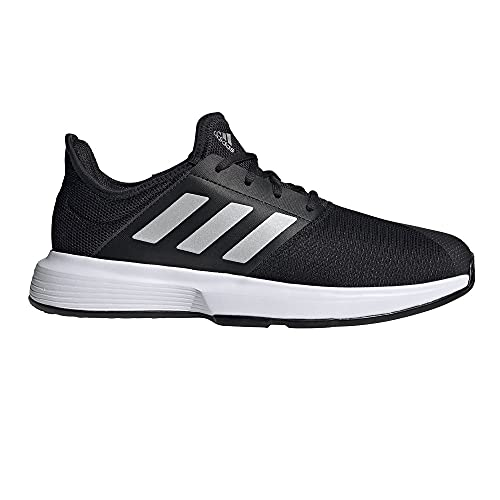 adidas GameCourt M, Zapatillas Deportivas Hombre, NEGBÁS/Plamat/FTWBLA, 41 1/3 EU