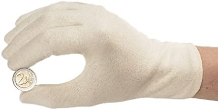unbleached cotton gloves