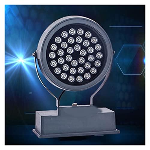 BDSHL Proyector LED Cuerpo de Lámpara Giratoria IP68 Impermeable al Aire Libre Luz de Escenario de Ahorro de Energía Foco Exterior Iluminación Exterior Iluminación Arquitectónica