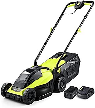 SnapFresh 14 Inch Electric Lawn Mower with Brushless Motor