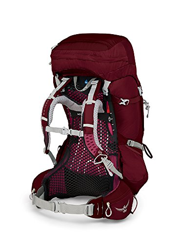 Osprey Packs Pack Aura Ag 65 Backpack, Gamma Red, Small