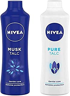 Nivea Musk & Pure Talc Combo 400Gm Each