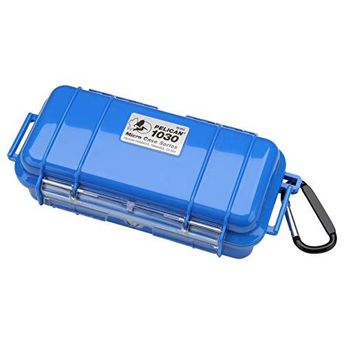 Pelikaan (Pelican) Kleine waterdichte koffer 1030HK blauw 1030HKBL 0.4L