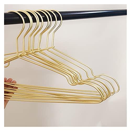 Perchas y Pantalones prácticos Racks 5/10 PCS Perchas de Ropa Espesar aleación de Aluminio Racks de Secado sin Fisuras Antideslizante A Prueba de Viento Anti-Rust Rust Rothing Ropa Organización
