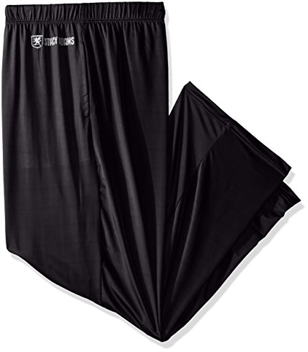 Stacy Adams Men's Big and Tall Sleep Pant, Black, XX-Large