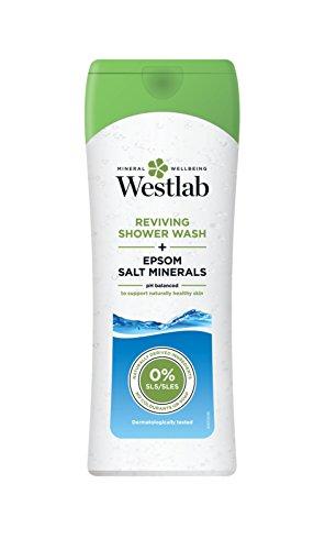 Westlab Gel douche revitalisant aux minéraux de sel d'Epsom pur (2)