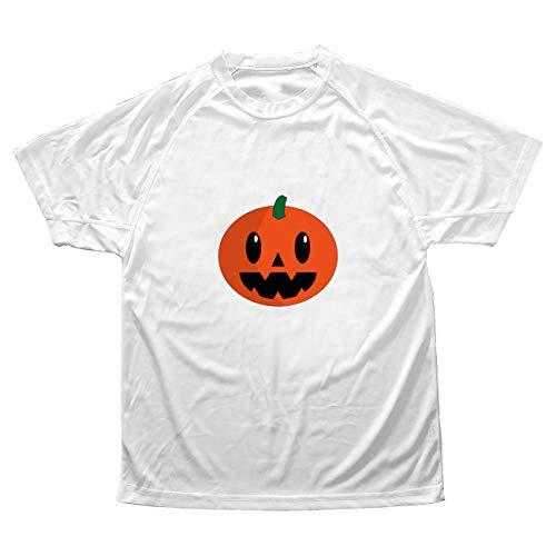 My Custom Style Herren-T-Shirt #Halloween_A#Polyester Mikroperforiert XL-Bianca Halloween-zucca_3