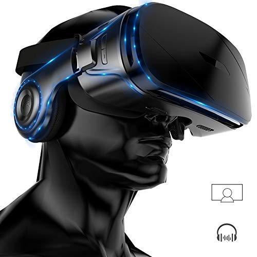 Best Price VR Headset, 3D Glasses Virtual Reality Headset for TV, 3D Movies & Video Games, Eye Care ...