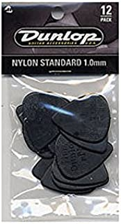 Jim Dunlop: Nylon Standard 1.00mm Plectrum (12 Pack). For Guitar
