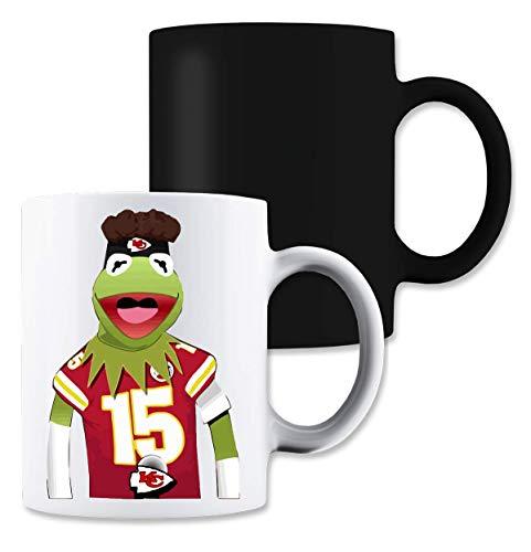 Shut Up Kermit Mahomes Meme Magische Tee-Kaffeetasse