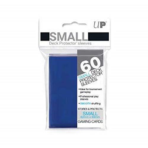 Ultra Pro Sleeves 60 D10 - Gioco di Carte (Piccolo, Blu)