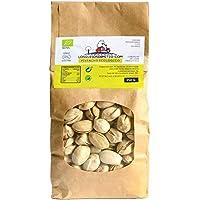 Pistacho Ecológico crudo sin sal añadida, cultivado en España (frutos secos naturales de agricultura ecológica, 250g de pistachos), de Losquesosdemitio